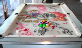 Graffiti Pool Table