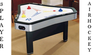 3 Player Air Hockey